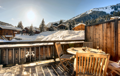 Terrace, Chalet Chrysalis, Morgins, Switzerland